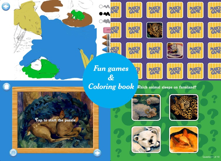The Animals Sleep: A Bedtime Book of Biomes screenshot-4
