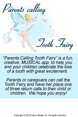 Parents Calling Tooth Fairy