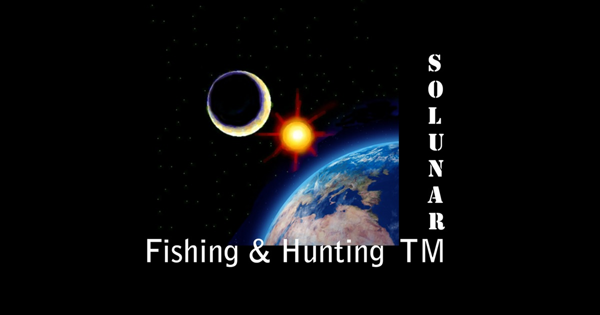 Solunar table on the app store for Solunar table hunting and fishing