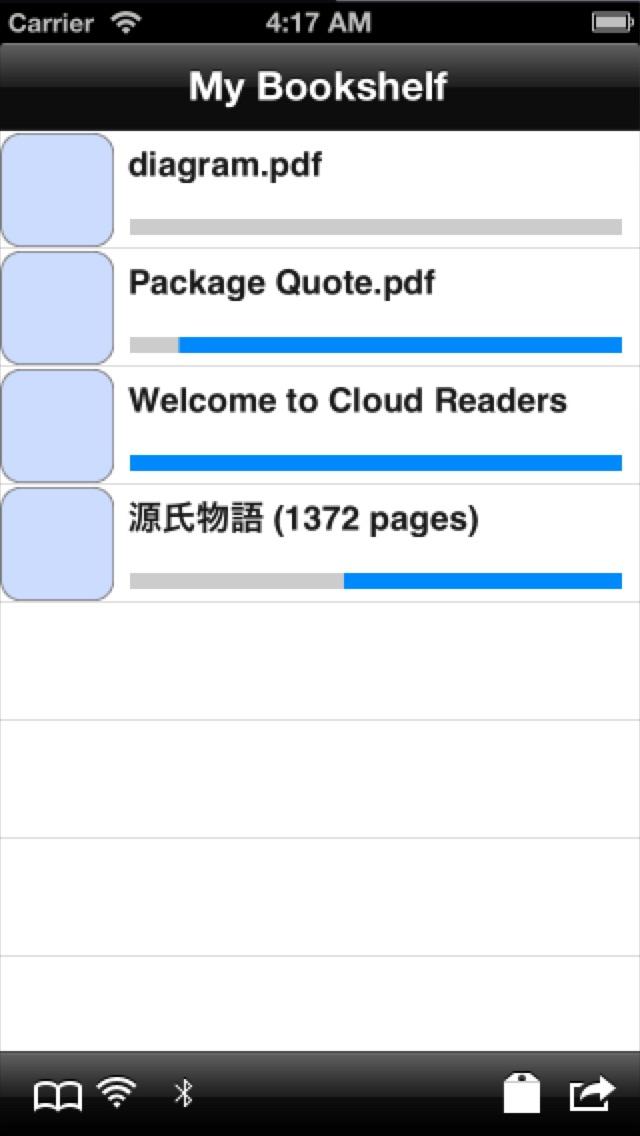 CloudReaders pdf,cbz,cbr ScreenShot0