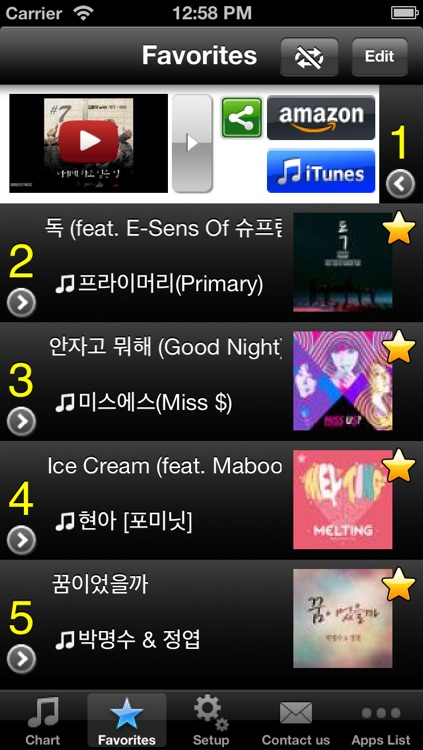 Best Hit KOR - Get The Newest Kpop Charts (Free) screenshot-2
