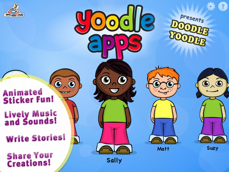 Sticker Doodle Yoodle - Kids Create their own Doodles with a Book of Fun and Silly Stickers screenshot-4