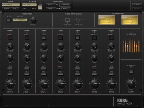 Screenshot #5 for KORG iMS-20