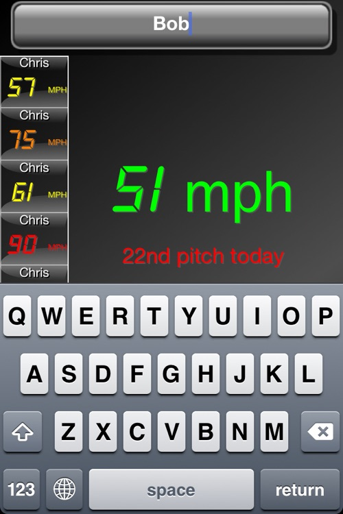 Pitch Radar Gun screenshot-3
