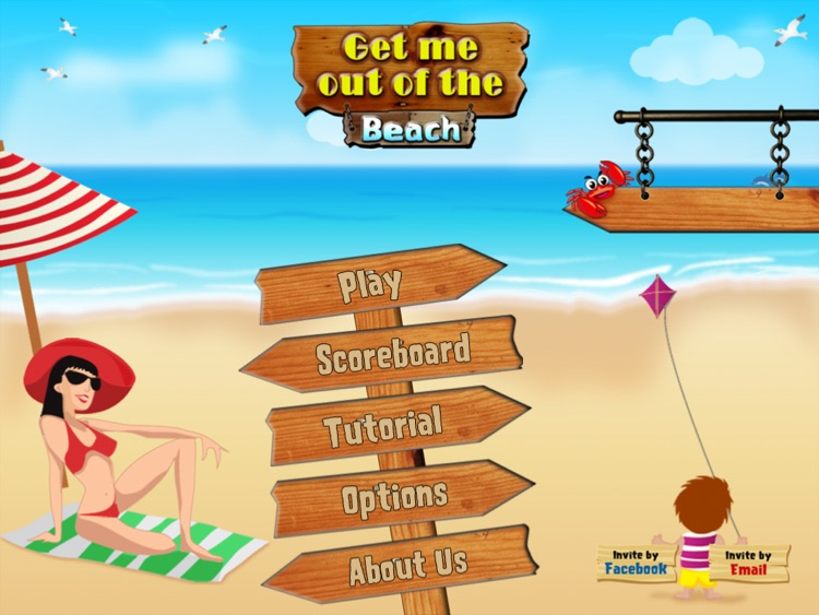 Get me out of the beach HD FREE , the hot summer traffic and puzzle game