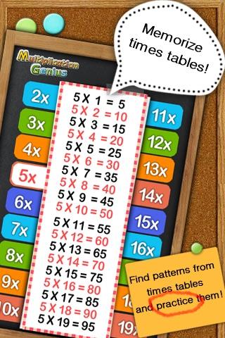 Multiplication Genius x19