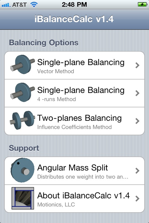 iBalanceCalc screenshot-1
