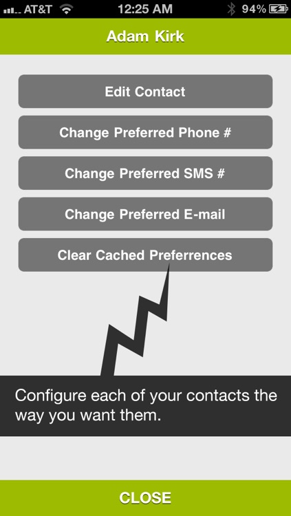 Dialvetica Contacts screenshot-4