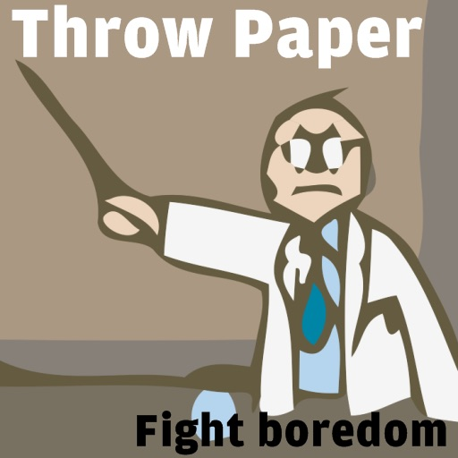Throw Paper