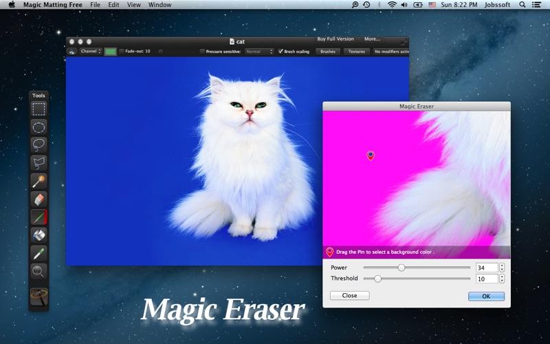 Magic Matting Free скриншот программы 2