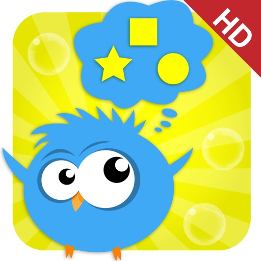 Cute Math - the Bird - HD icon