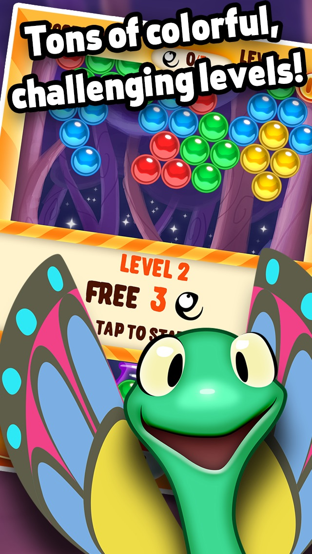 Gecko Pop - Bubble Popping and Shooting Adventure hack tool