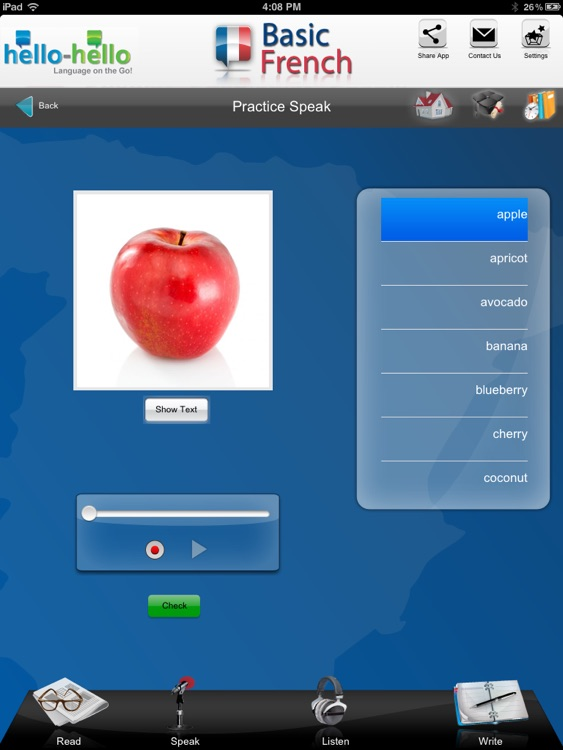 Learn French Vocabulary HH screenshot-4