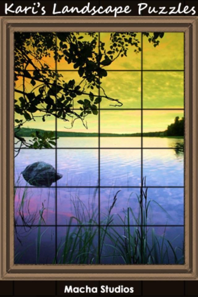 Kari's Landscape Puzzles