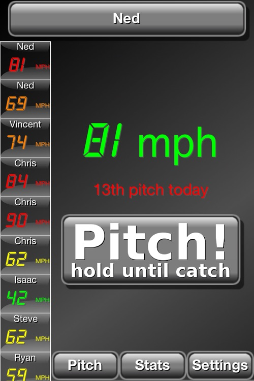 Pitch Radar Gun screenshot-0