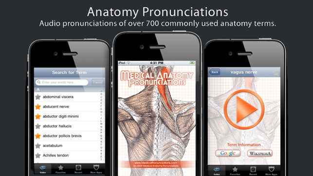 Anatomy Pronunciations Lite on the App Store