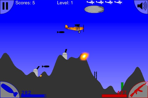 Bomber Zone Lite (FREE) screenshot-3
