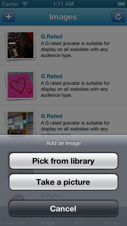 iGravatar screenshot-3
