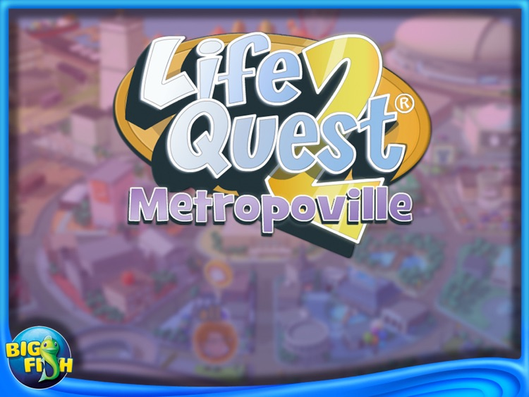 Life Quest 2: Metropoville HD screenshot-0