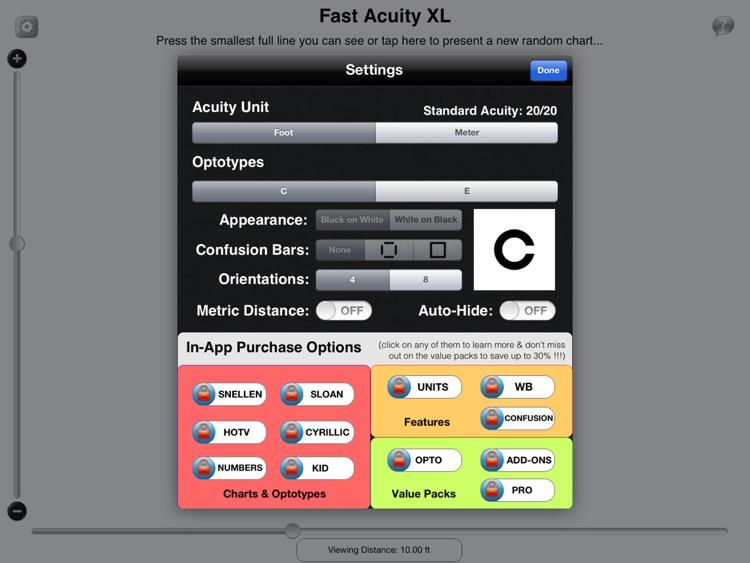Fast Acuity XL screenshot-3