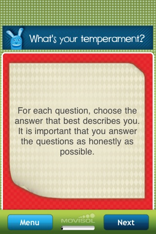 What's your temperament?