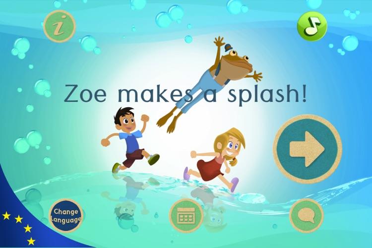 Zoe makes a splash!
