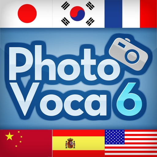 Photo Voca- 6 Languages at Once icon