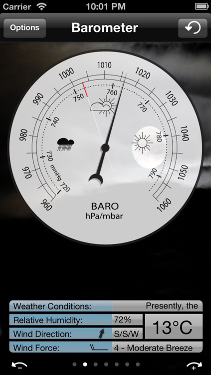 Barometer for iPhone