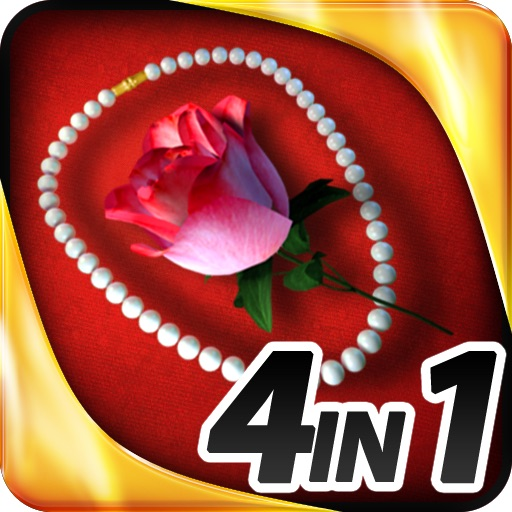 Hidden Objects - 4 in 1 - Romance Pack