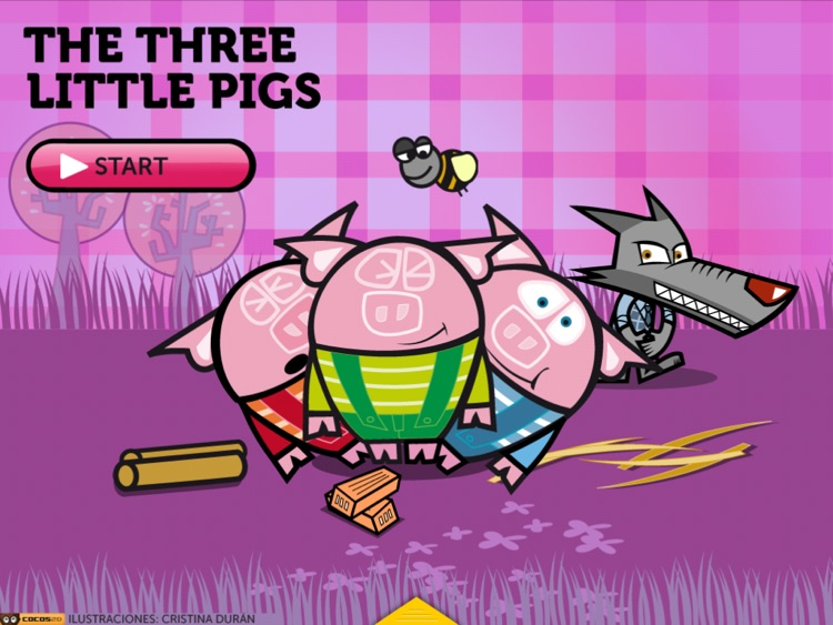 THE THREE LITTLE PIGS HD. ITBOOK STORY-TOY. screenshot-0