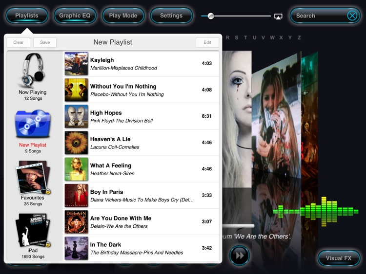 Reflection Music Player screenshot-3