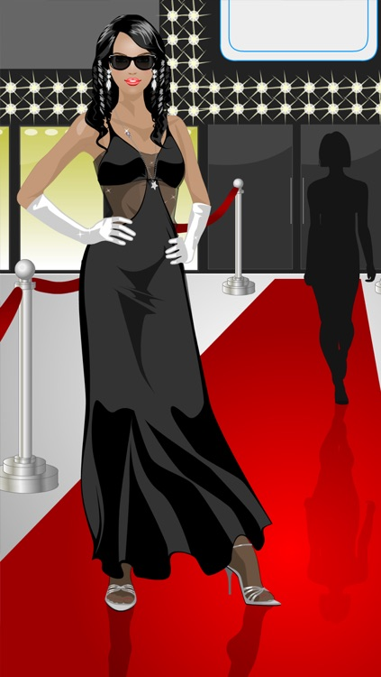 Dress Up and Makeup: Red Carpet screenshot-3