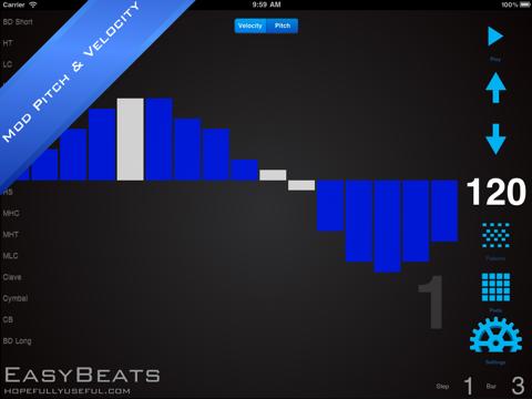 EasyBeats 2 Pro Drum Machine - Beat or Program Drums!-ipad-3