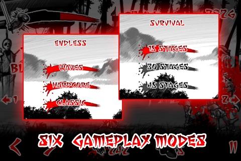 Draw Slasher: Dark Ninja vs Pirate Monkey Zombies screenshot-4