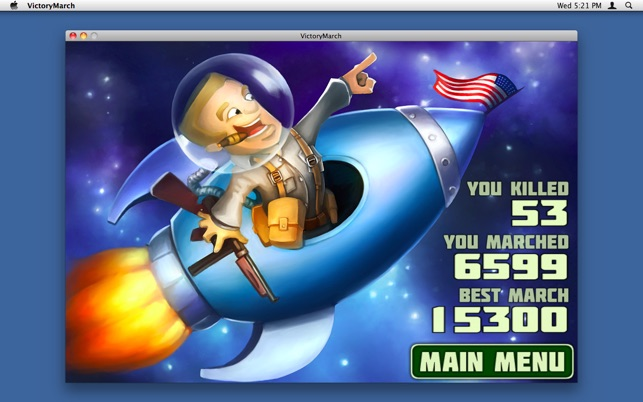 Victory March Screenshot