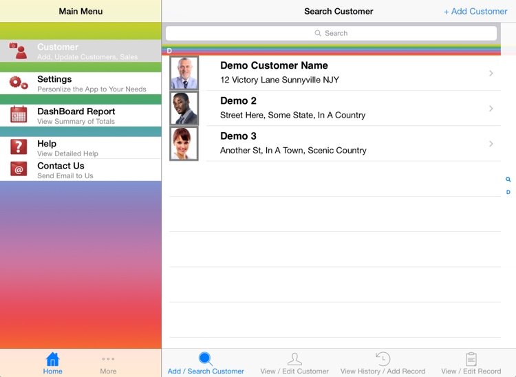 Insurance Agent ON The GO - Clients, Contacts & Policy Tracker Database App For Mobile Agency