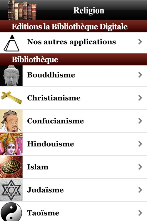 Religion (Anthologie de la)