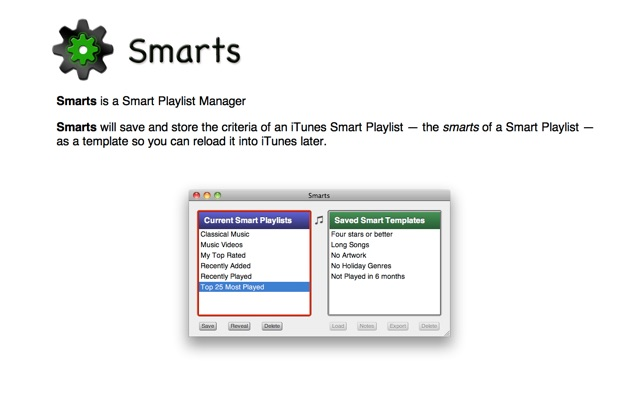 Smarts on the Mac App Store