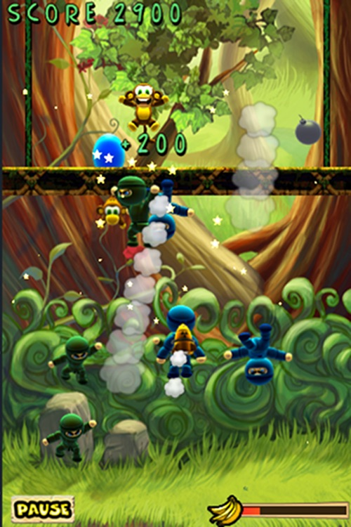 Munkey Vs Ninjas screenshot-4