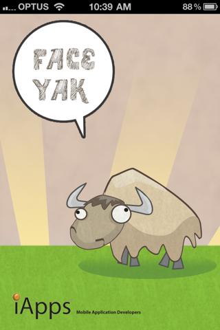 FaceYak screenshot 1