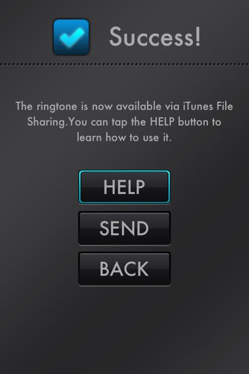Ringtone Maker Pro - Create free ringtones with your music! screenshot-4