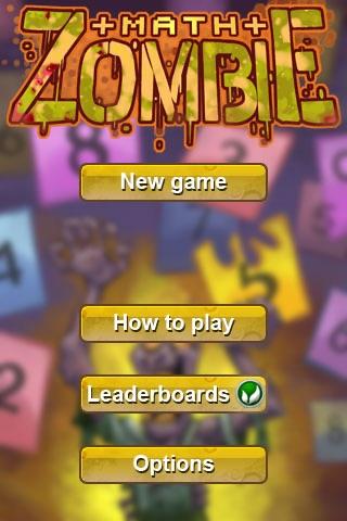 Math Zombie - Learn Math is fun