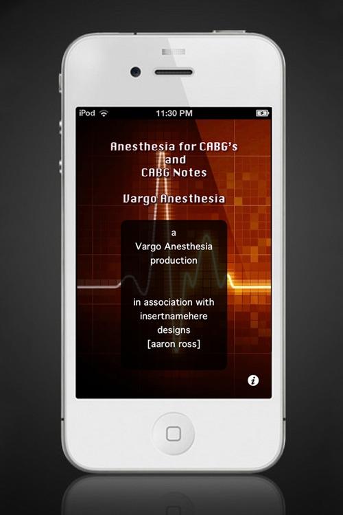 CABG For Anesthesia screenshot-4