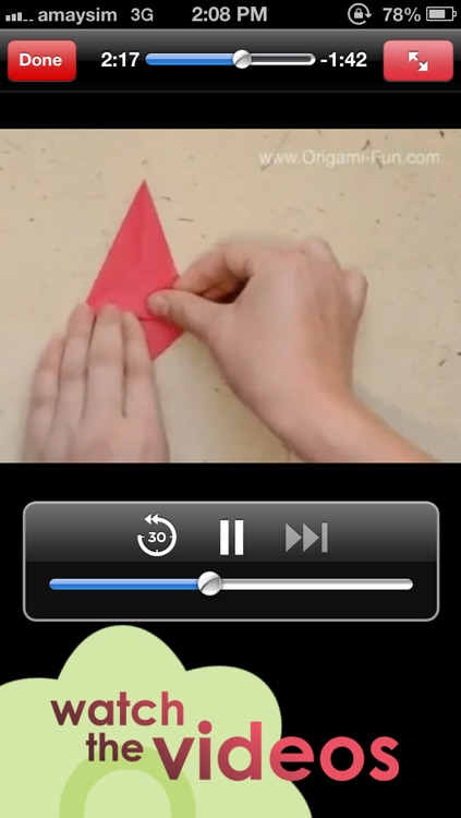 Origami Fun screenshot-3