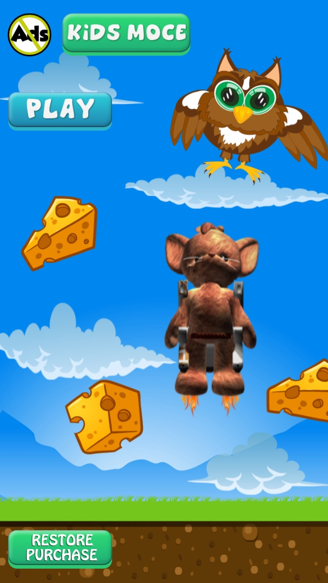 jet pack cute mouse cheese game app price drops
