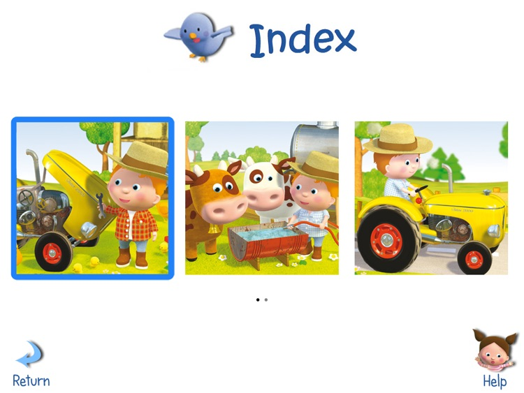 LITTLE BOY -  PETER'S TRACTOR HD screenshot-4