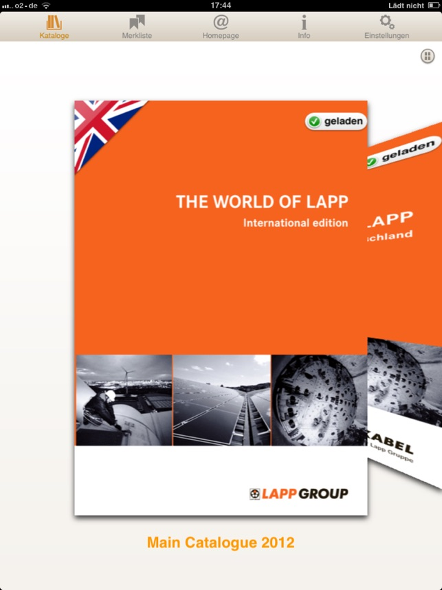 Lapp Group Catalogue on the App Store