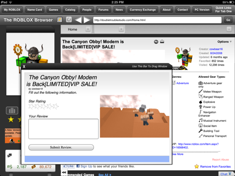 The Browser for ROBLOX by Double Trouble Studio (iOS, United