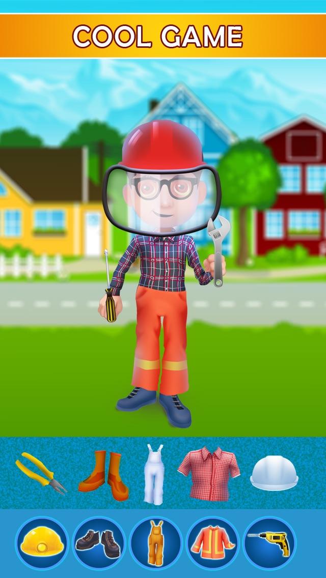 Dress Up Builder Bill - Fun Kids Game-1