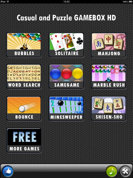 ALL-IN-1 Casual & Puzzle Gamebox HD FREE!